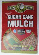 Sugar Cane Mulch Compressed - 12kg bag