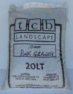 Pink Granite 10mm - 20ltr bag