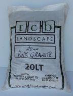 Pink Granite 20mm - 20ltr bag