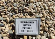 Burdekin River Pebble 30-50mm (bulk)