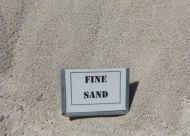 Fine Double Washed White Sand (bulk)