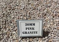 Pink Granite 20mm (bulk)