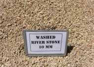 Washed River Stone 10mm (bulk)