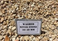 Washed River Stone 20-40mm (bulk)