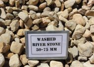 Washed River Stone 50-75mm (bulk)