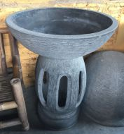 Bird Bath - Hollow base - slotted