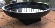 Bird Bath - 33cm high, 100cm dia bowl