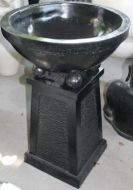 Bird Bath - Bowl supported on 4 balls