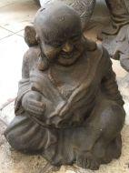 Monk - Sitting - Smiling