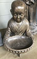 Monk - Sitting - with bowl