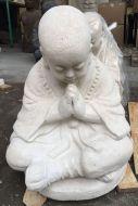 Monk - Sitting - praying