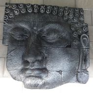 Wall Plaque - Buddha face