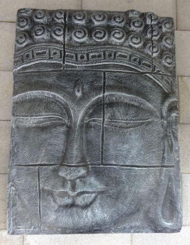 Wall Plaque - Buddha face