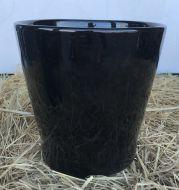 Cover Pot - Shiny Black