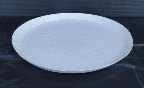 Saucer - Round - White