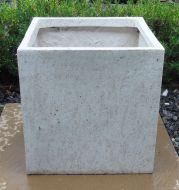 Cube Pot  - White